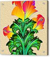 Incendia Flowers #5 Acrylic Print