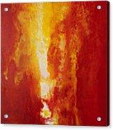 Incendie Acrylic Print