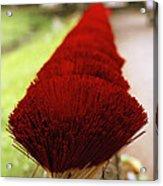 Incense Sticks Acrylic Print