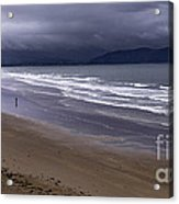 Inch Beach Co Kerry Ireland Acrylic Print by Dick Wood