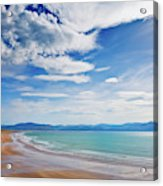 Inch Beach, Dingle Peninsula, County Acrylic Print