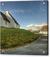 Inchiquin Cottages Acrylic Print