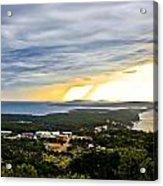 Incoming Storm Over Losinj Island Acrylic Print