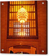 Incredible Art Nouveau Antique Grand Central Station - New York Acrylic Print
