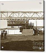 Incredible Hanging Railway  1900 Acrylic Print