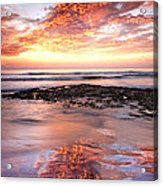 Incredible Sunset Acrylic Print by Julianne Bradford