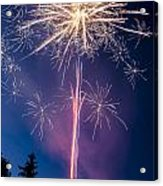 Independence Day 2014 1 Acrylic Print by Alan Marlowe
