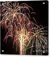 Independence Day Fireworks Acrylic Print