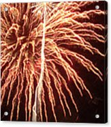 Independence Day Sparklers 2 Acrylic Print by Deborah Smolinske