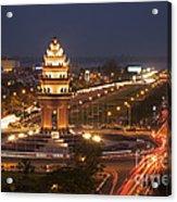 Independence Monument, Cambodia Acrylic Print