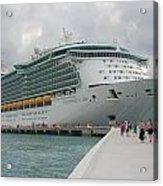 Independence Of The Seas Acrylic Print