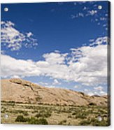 Independence Rock Wy Acrylic Print