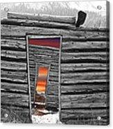 Independent Sunset Acrylic Print