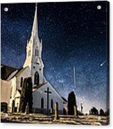 Indherred Church Acrylic Print