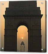India Gate, Delhi Acrylic Print
