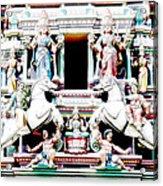 India Religion Acrylic Print