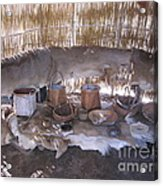 Indian Baskets Acrylic Print