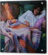 Indian Blanket Acrylic Print