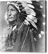 Indian Chief - 1902 Acrylic Print