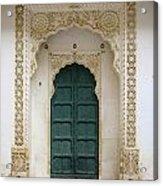 Indian Doorway Acrylic Print
