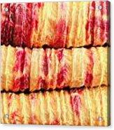 Indian Fabric Acrylic Print
