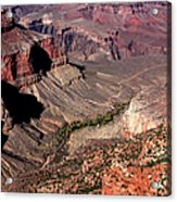 Indian Gardens In The Grand Canyon Acrylic Print