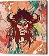 Indian Head Series 02 Acrylic Print