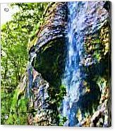 Indian Ladder Falls 2 Acrylic Print