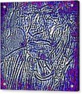 Indian Man Acrylic Print