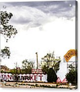 Indian Market Acrylic Print