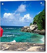 Indian Ocean Moyenne Island Seychelles Acrylic Print
