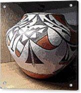 Indian Pot 1 Acrylic Print