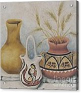 Indian Pots Acrylic Print