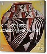 Indian Pottery Acrylic Print