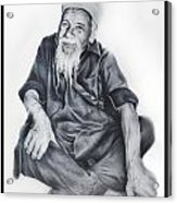 Indian Priest Acrylic Print