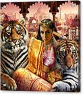 Indian Princess Acrylic Print