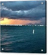 Indian River Lagoon Florida Storm Acrylic Print