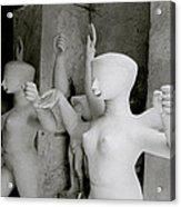 Indian Sculpture Acrylic Print