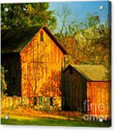 Indian Summer In October Acrylic Print