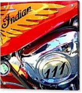 Indian Acrylic Print
