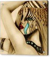 Indian Tribal  Acrylic Print