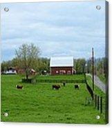 Indiana Barn 6 Acrylic Print