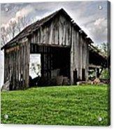 Indiana Barn Acrylic Print