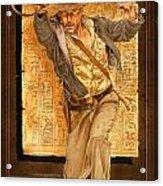 Indiana Jones Acrylic Print