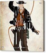 Indiana Jones Vol 2 - Harrison Ford Acrylic Print
