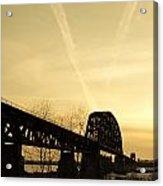 Indiana Ky Bridge Acrylic Print