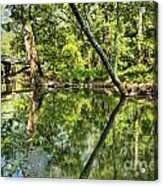 Indiana Reflections Acrylic Print