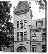 Indiana University Kirkwood Hall Acrylic Print