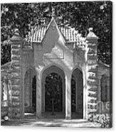 Indiana University Rose Well House Acrylic Print by University Icons