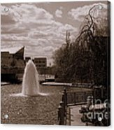 Indianapolis Canal Acrylic Print